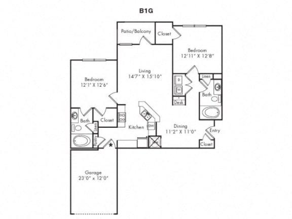 B1G Floorplan