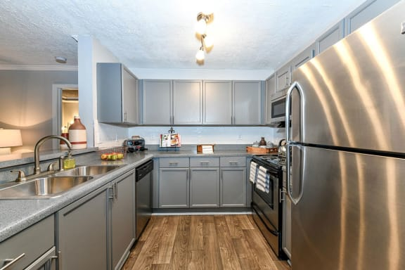 Eat-in Kitchen With Pantry, at Crestmark Apartment Homes, Georgia