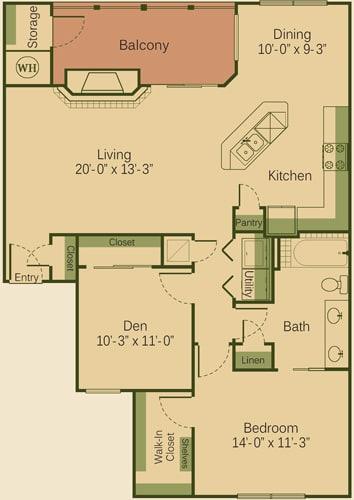 one bedroom apartments in cedar park