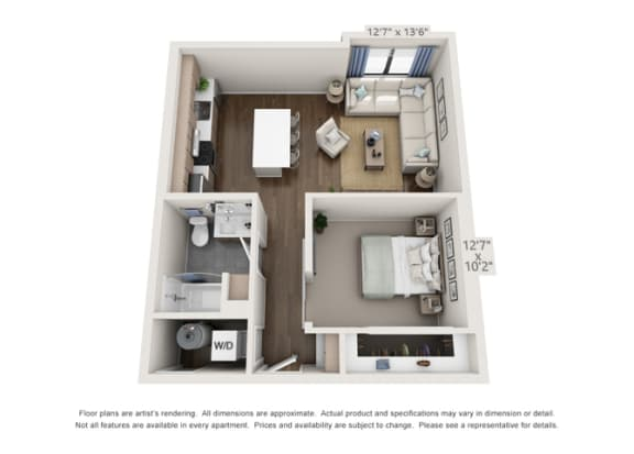 layout for apartment in denver colorado