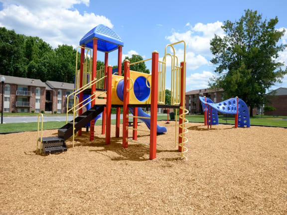 New playground for children at Windsor House Apartments