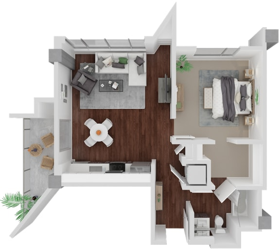 Floor Plan  Venn on Market| Castro