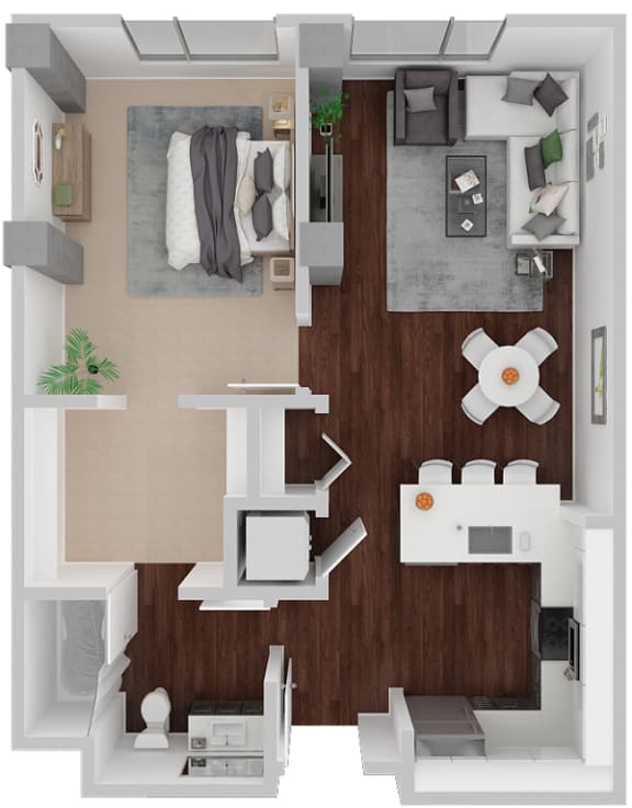 Floor Plan  Venn on Market|Dolores