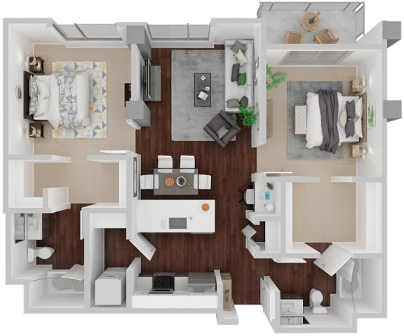 Floor Plan  Venn on Market|Laguna