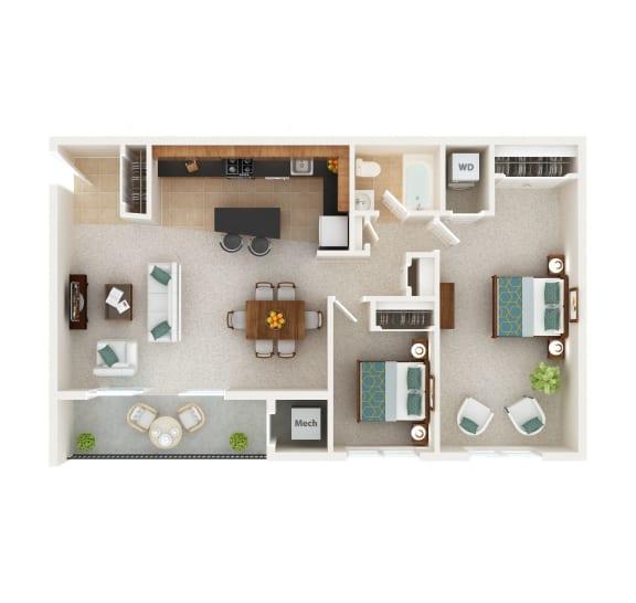 Floor Plan  South