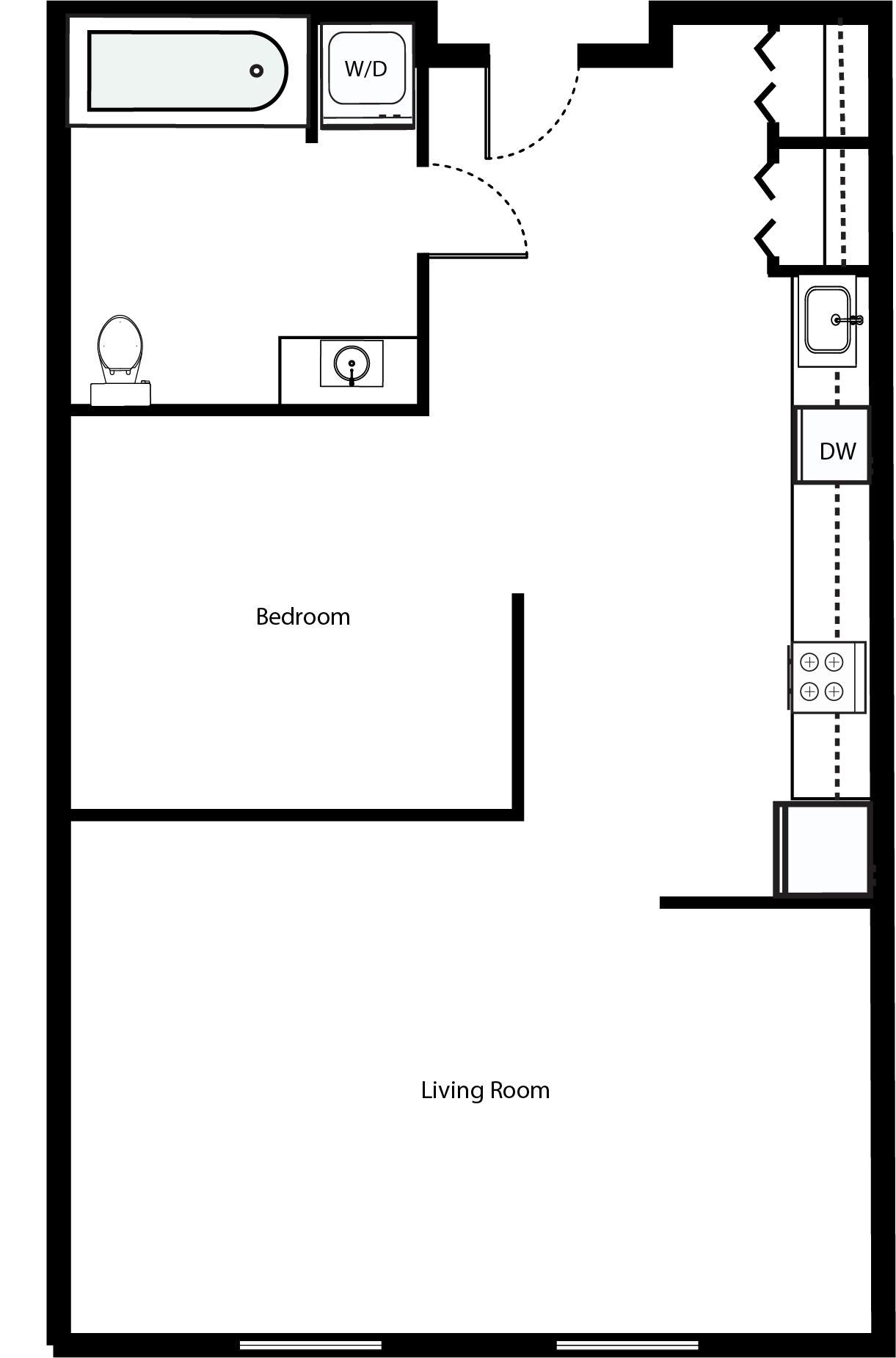 Floor Plan  O1A