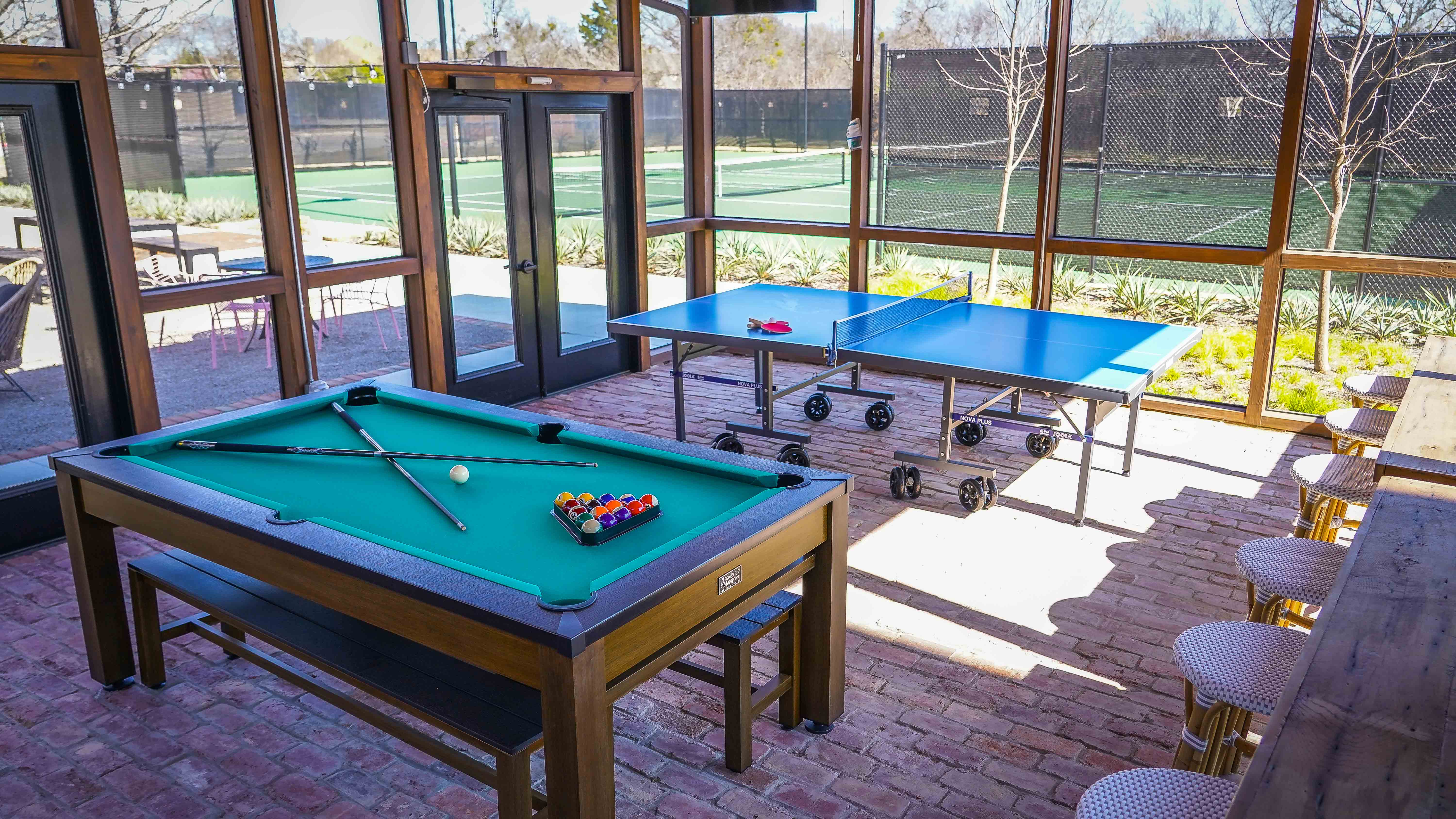 Game Room at Fireside Courts