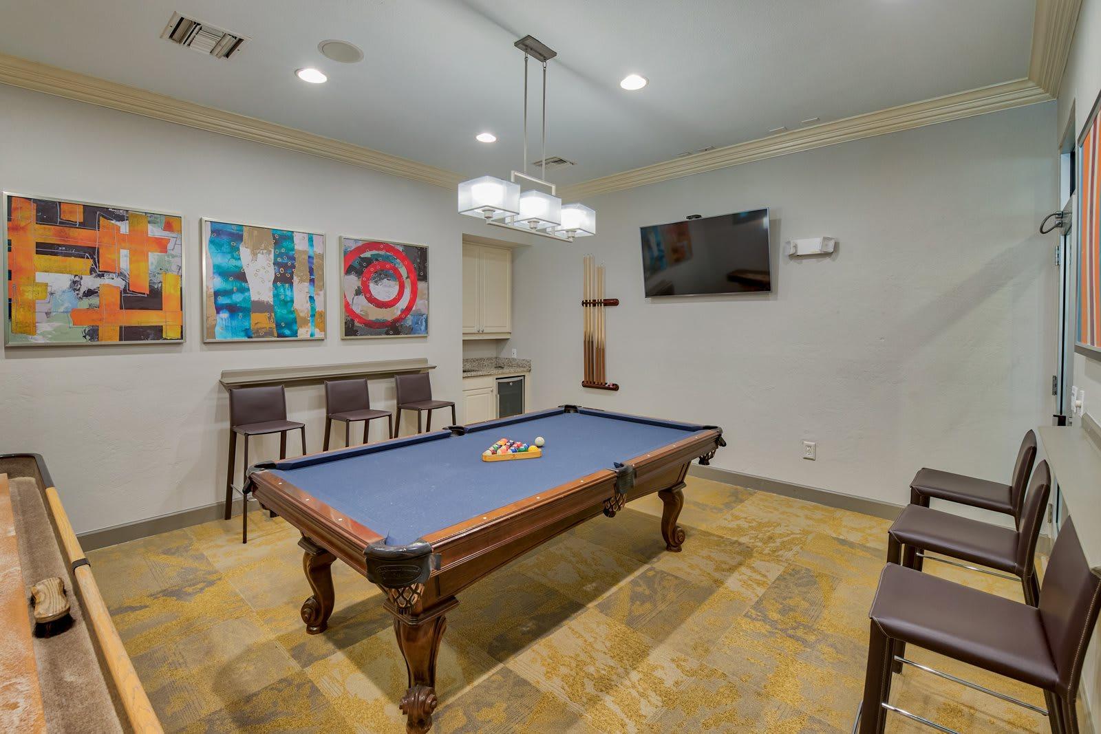 Billiards and Gaming Room at Windsor at Aviara, 6610 Ambrosia Lane, CA