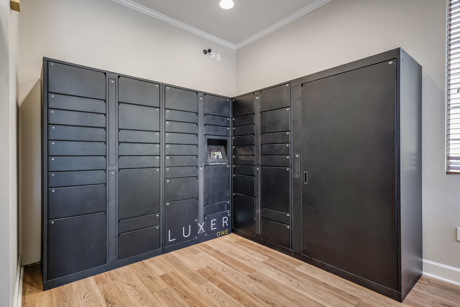 24/7 Package Receiving with LuxerOne at Pavona Apartments, San Jose, California