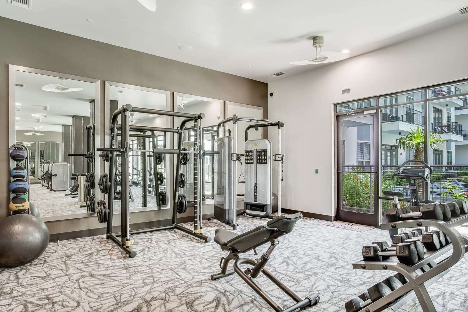 Fully Equipped Fitness Center at Windsor CityLine, Richardson, 75082