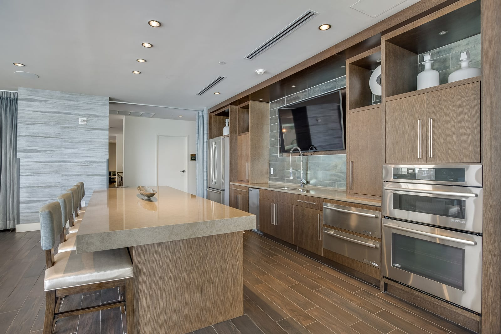 Modern, Gourmet Kitchen at Amaray Las Olas by Windsor, Fort Lauderdale, 33301
