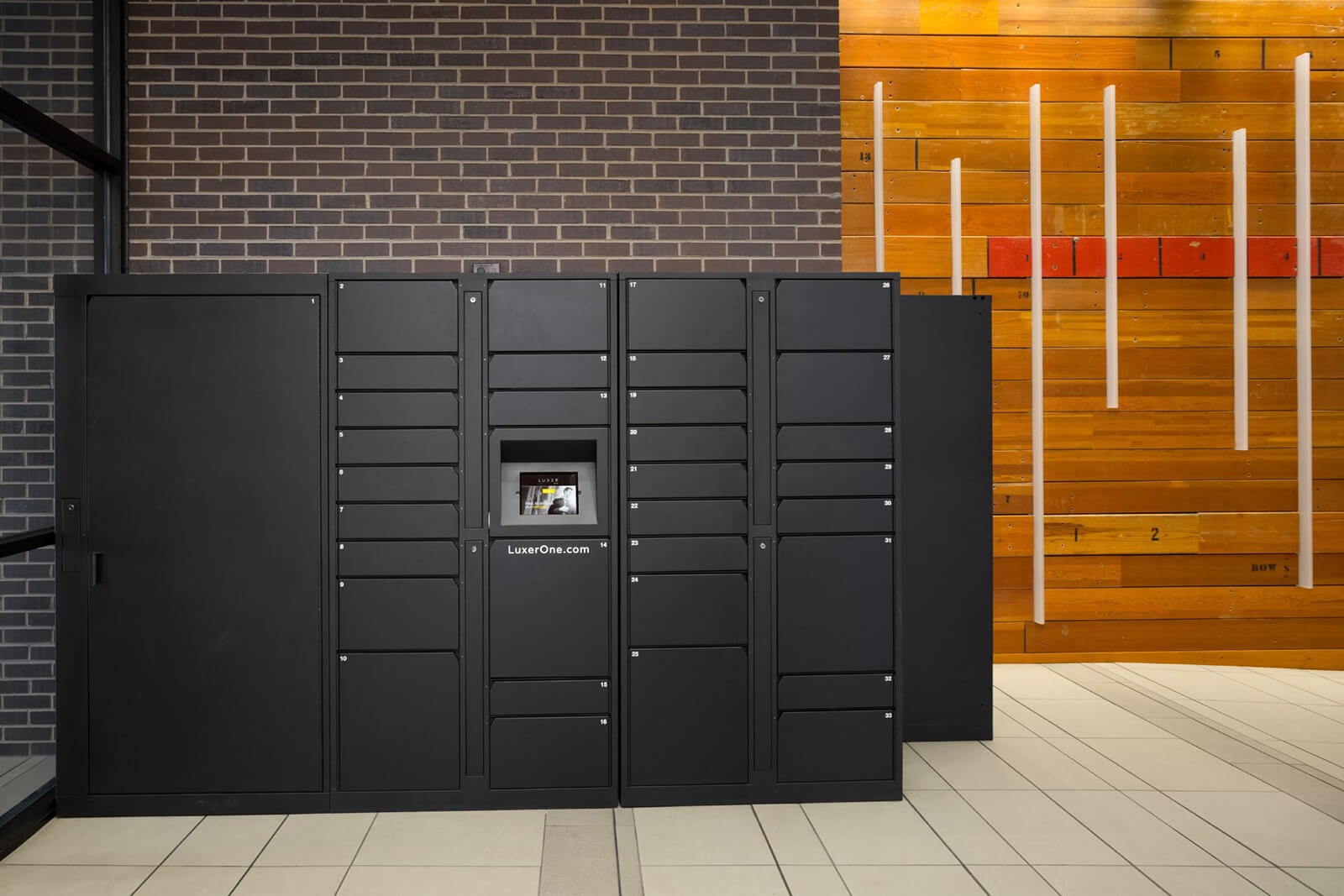24-Hour Package Lockers at The Casey, Denver, Colorado