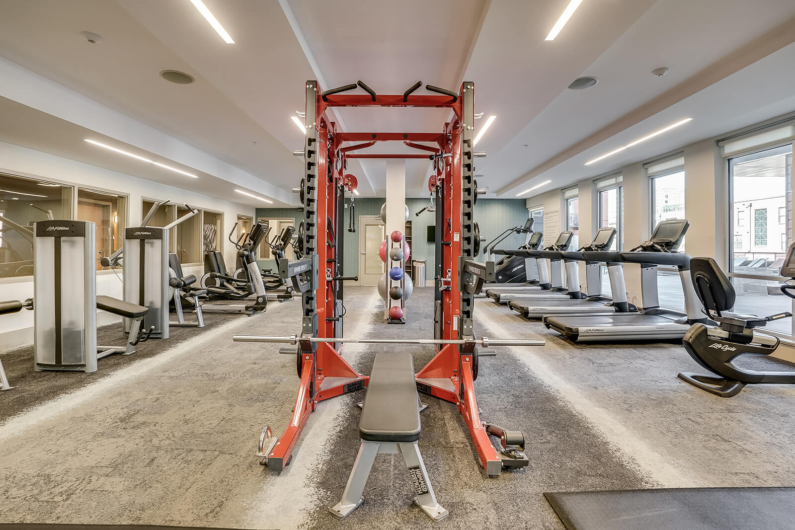 State-of-the-Art Fitness Center at The Casey, Denver, 80202