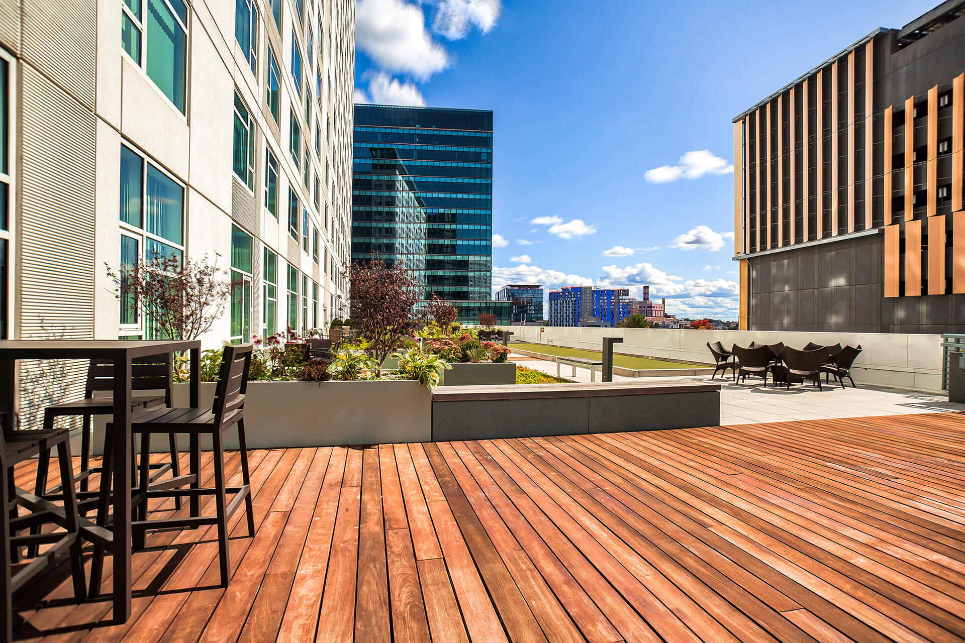 Outdoor Regulation Sized Bocce Ball Court at Waterside Place by Windsor, Boston, 02210