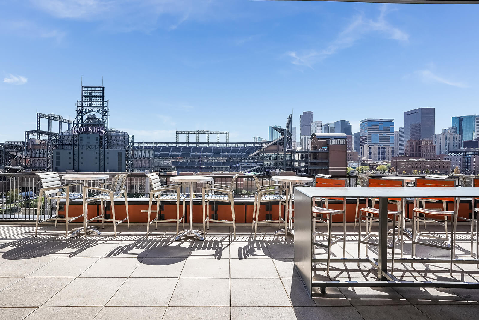 Rooftop Grilling Station at The Casey, Colorado, 80202