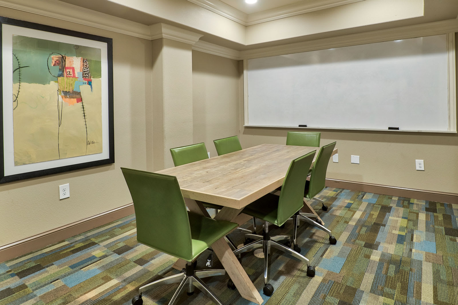 Resident Conference Room at Windsor Lofts at Universal City, 4055 Lankershim Blvd., Studio City