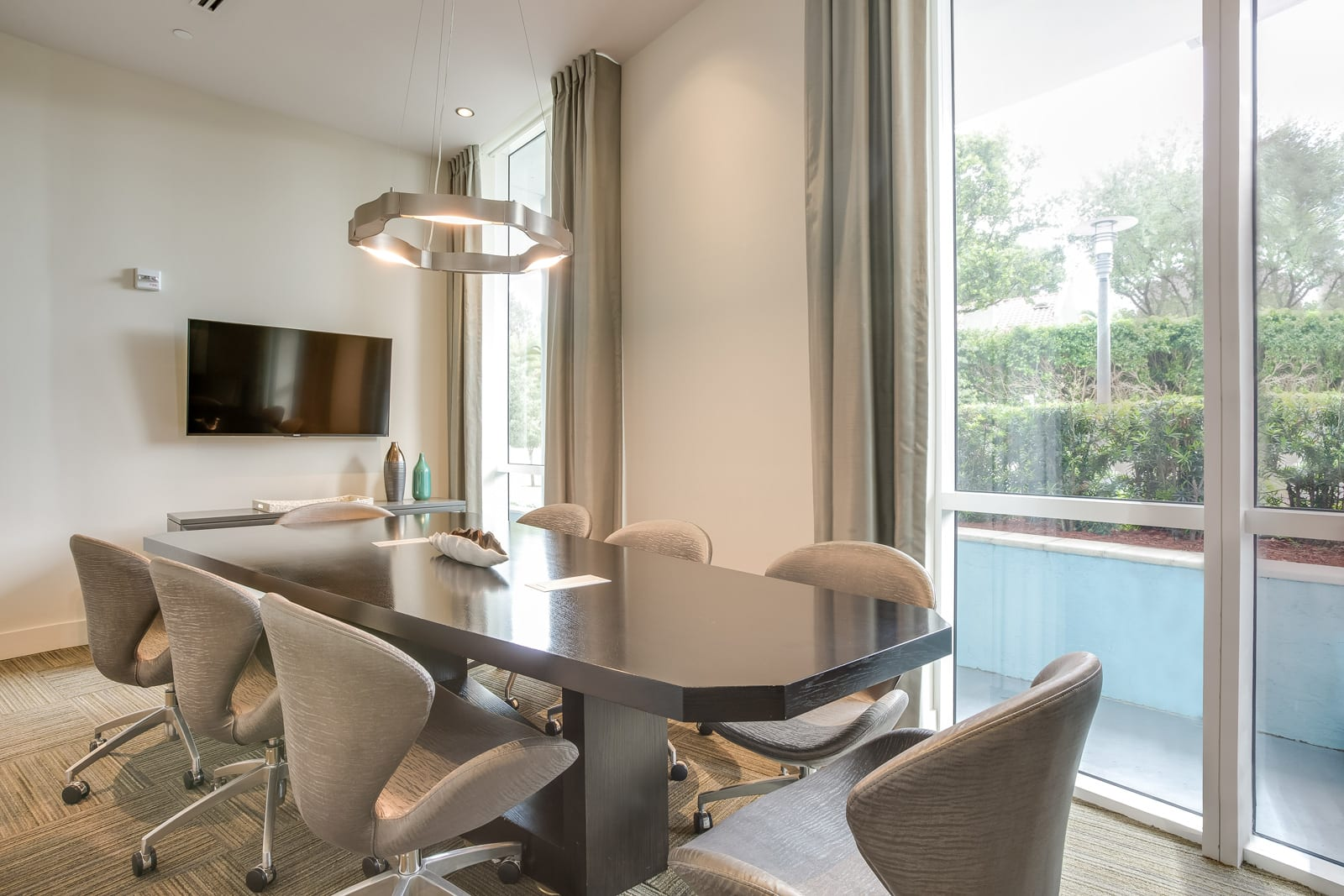Executive Conference Room at Amaray Las Olas by Windsor Apartments, 215 SE 8th Ave, Fort Lauderdale