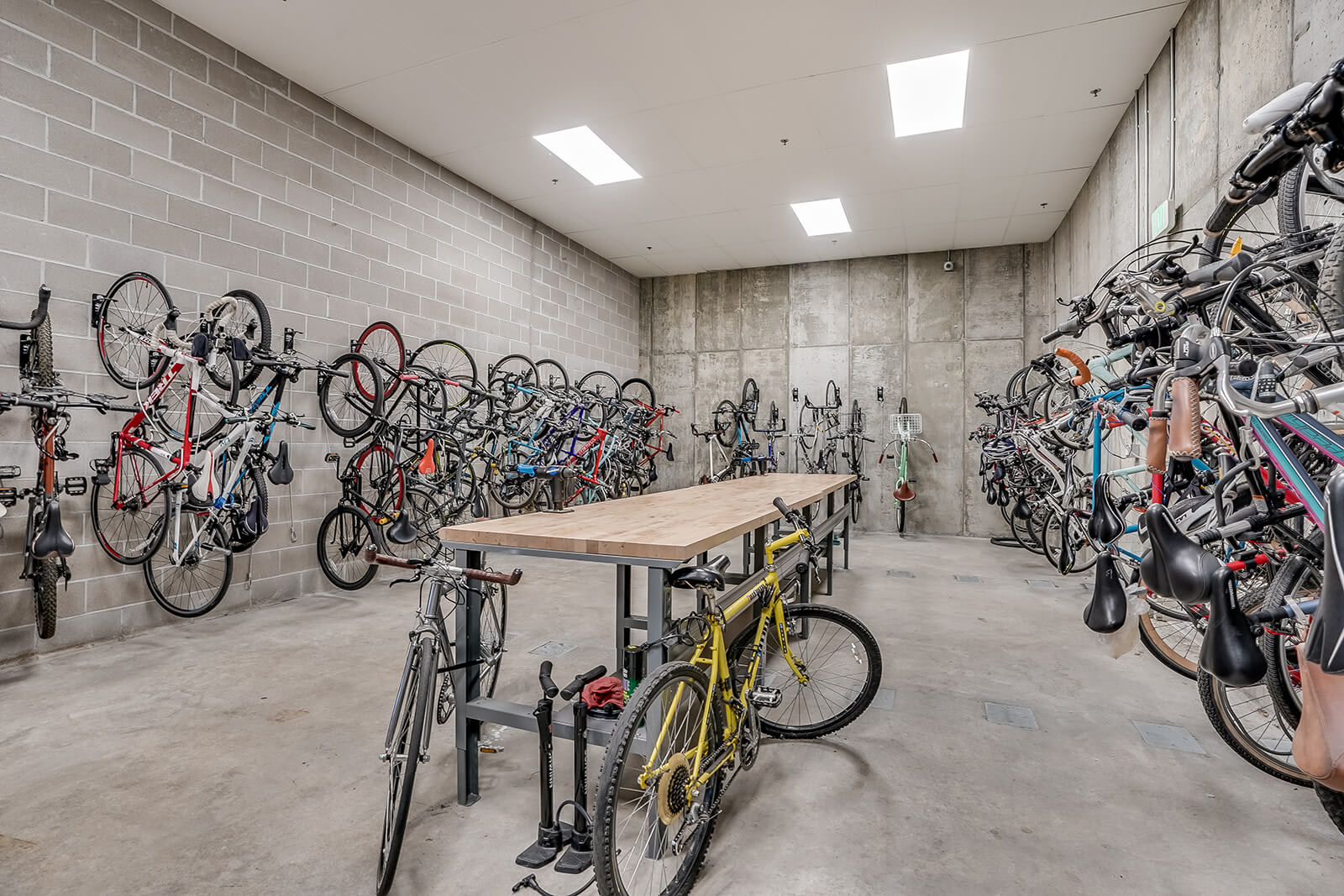 Indoor Bike Storage at The Casey, 2100 Delgany, CO