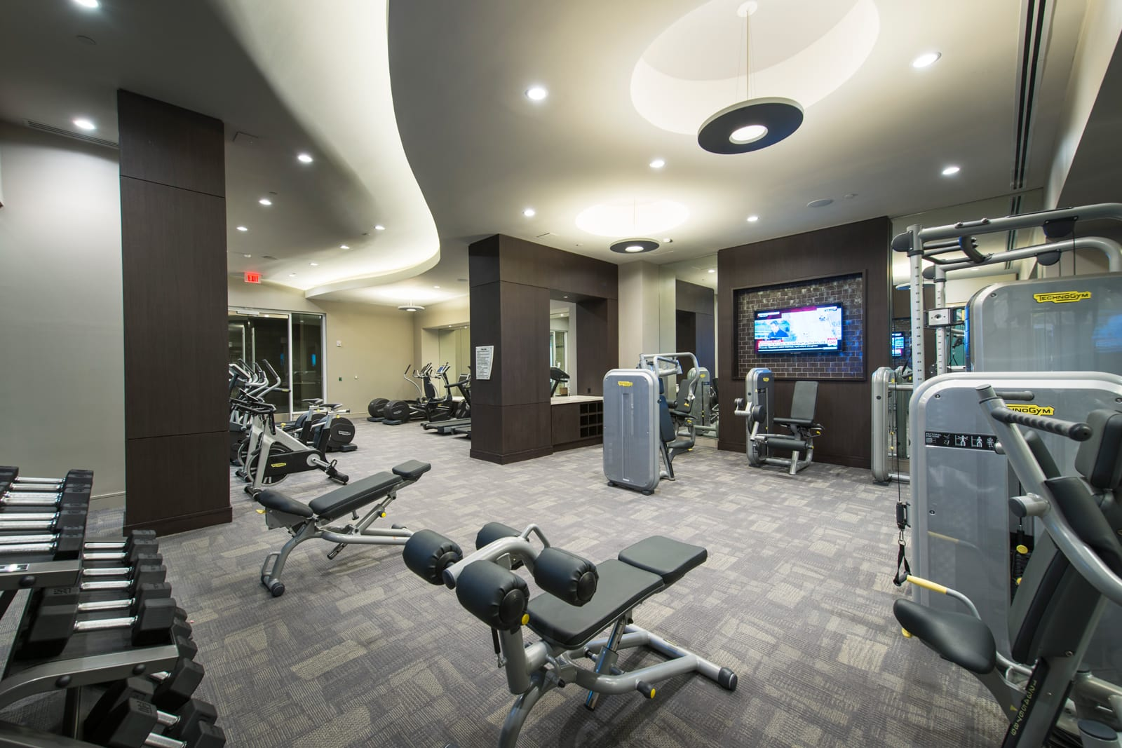 24-Hour Fitness Center at 1000 Grand by Windsor, Los Angeles, CA