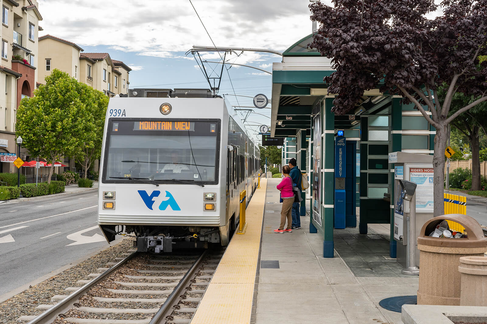 Nearby VTA at Mission Pointe by Windsor, Sunnyvale, CA
