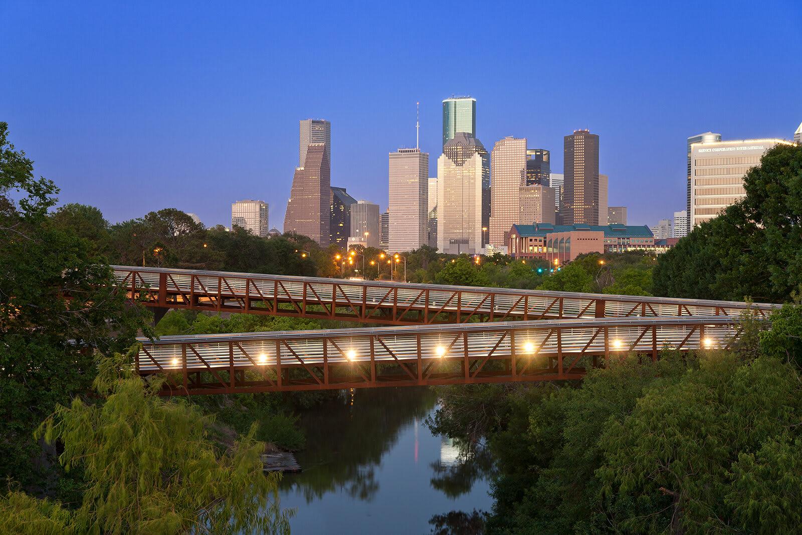 Historic Houston Skyline View from Memorial by Windsor, 3131 Memorial Court, Houston
