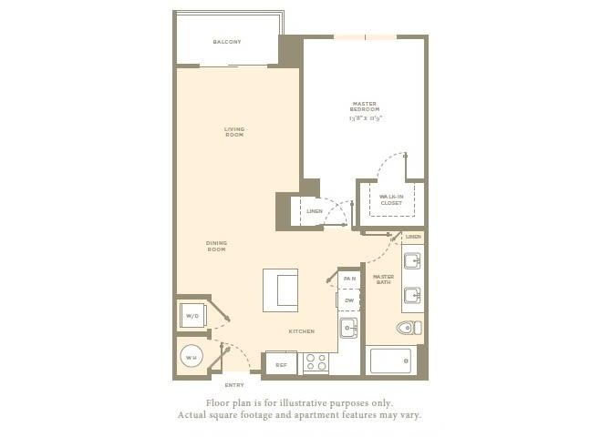 Floor Plan  A1 Floor Plan at Amaray Las Olas, 215 SE 8th Ave, FL, opens a dialog