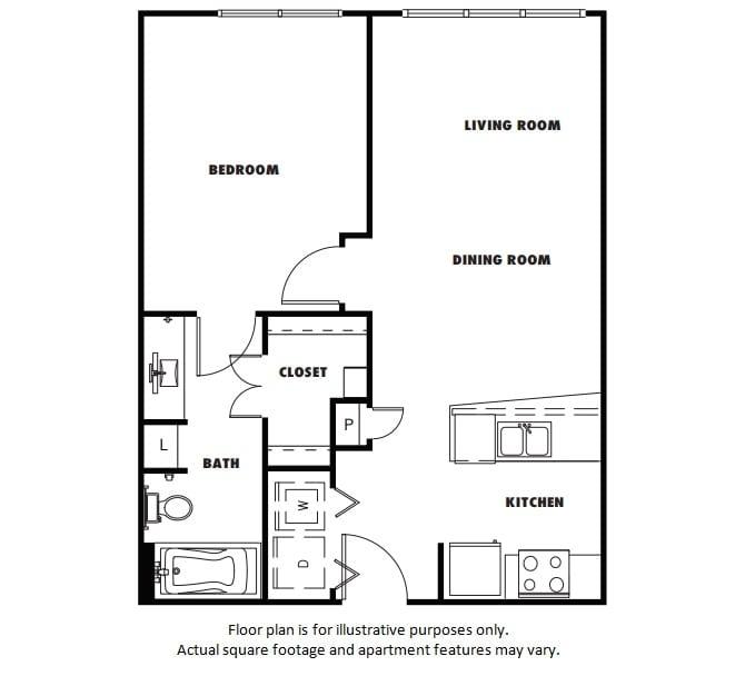 Floor Plan  A2 floor plan at Windsor Metro West, Texas, 75024, opens a dialog