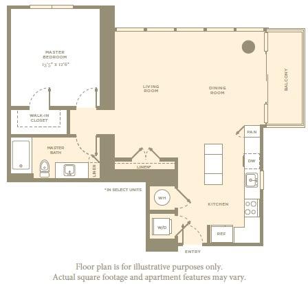 Floor Plan  A2 Floor Plan at Amaray Las Olas by Windsor, Fort Lauderdale, Florida, opens a dialog