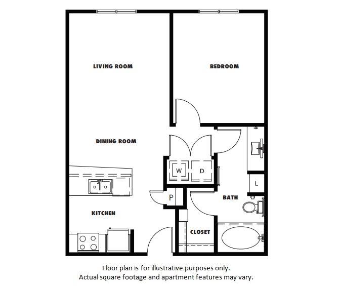 Floor Plan  A3A floor plan at Windsor Metro West, Plano, TX, opens a dialog