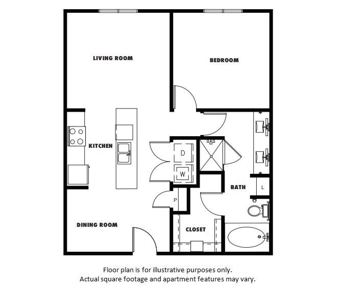 Floor Plan  A4  Floor Plan at Windsor Metro West, Plano, TX, opens a dialog