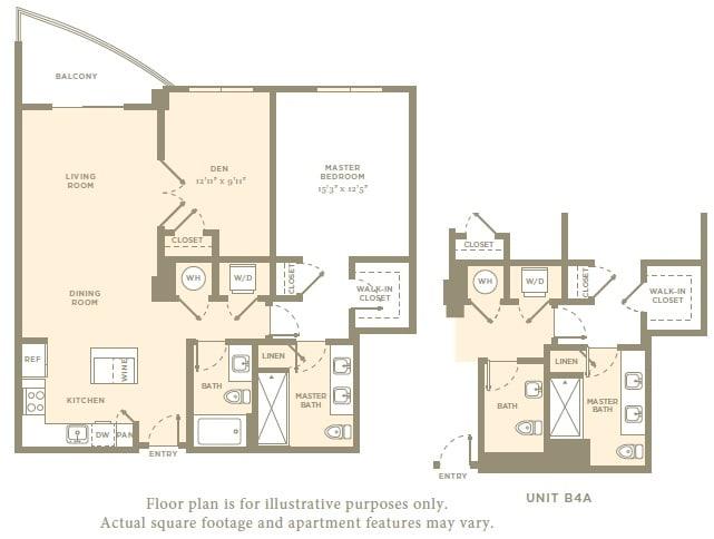 Floor Plan  A5 Floor Plan at Amaray Las Olas, 215 SE 8th Ave, Fort Lauderdale, opens a dialog