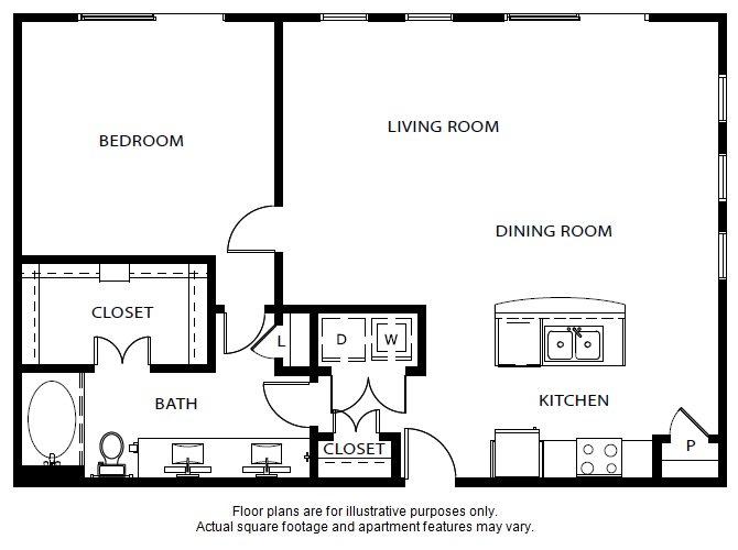 Floor Plan  A7 updated floor plan at Windsor Metro West, Plano, TX, opens a dialog