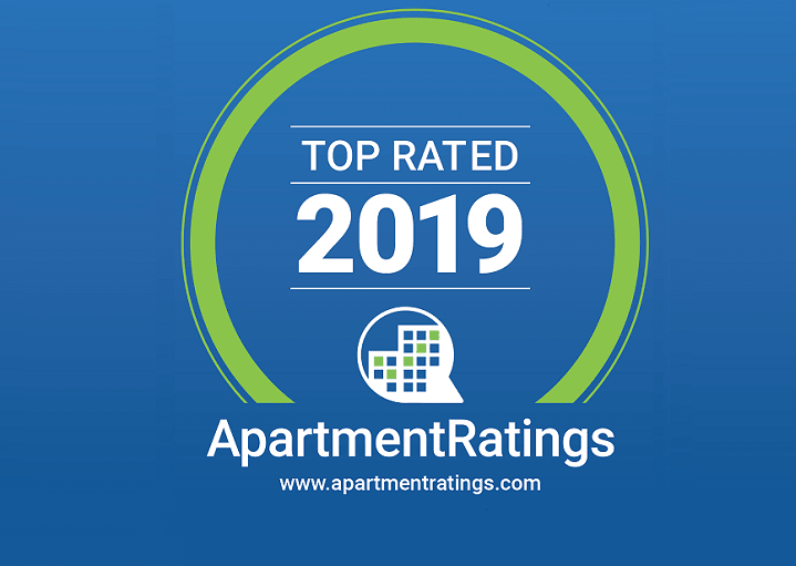 ApartmentRatings Top Rated 2019 Award at Windsor Shepherd, TX, 77007