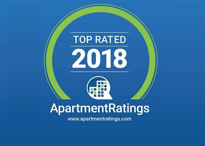 2018 Top Rated ApartmentRatings Award at Windsor at Aviara, Carlsbad, CA
