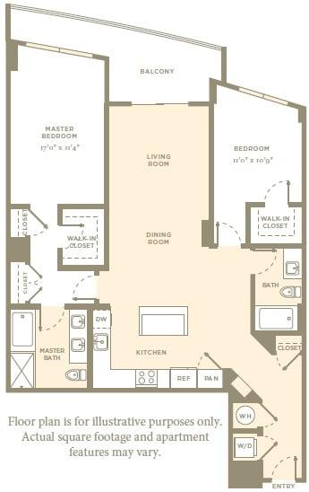 Floor Plan  B11 Floor Plan at Amaray Las Olas, 215 SE 8th Ave, 33301, opens a dialog