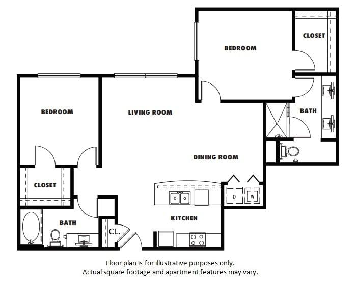 Floor Plan  B3A floor plan at Windsor Metro West, TX, 75024, opens a dialog