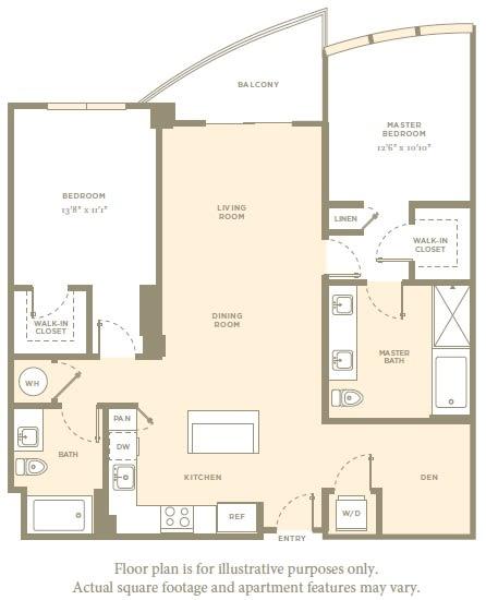 Floor Plan  B5 Floor Plan at Amaray Las Olas by Windsor, FL, 33301, opens a dialog