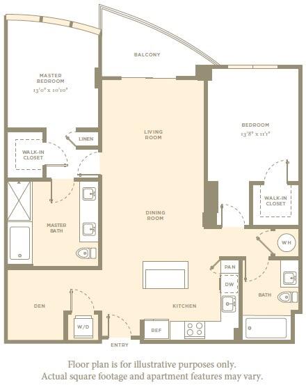 Floor Plan  B5c Floor Plan at Amaray Las Olas by Windsor, Fort Lauderdale, Florida, opens a dialog