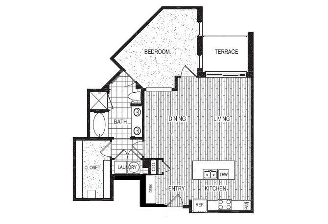 Floor Plan  E, opens a dialog