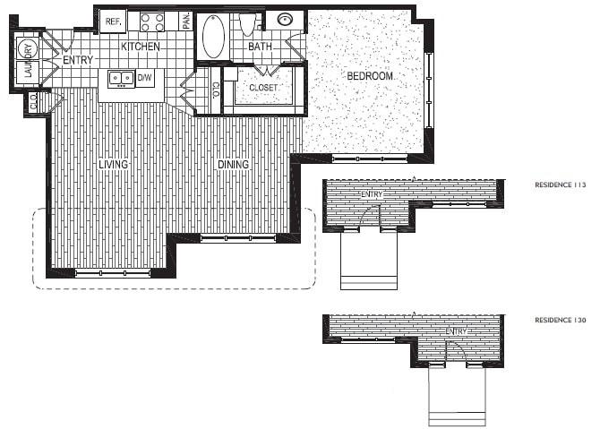 Floor Plan  F, opens a dialog