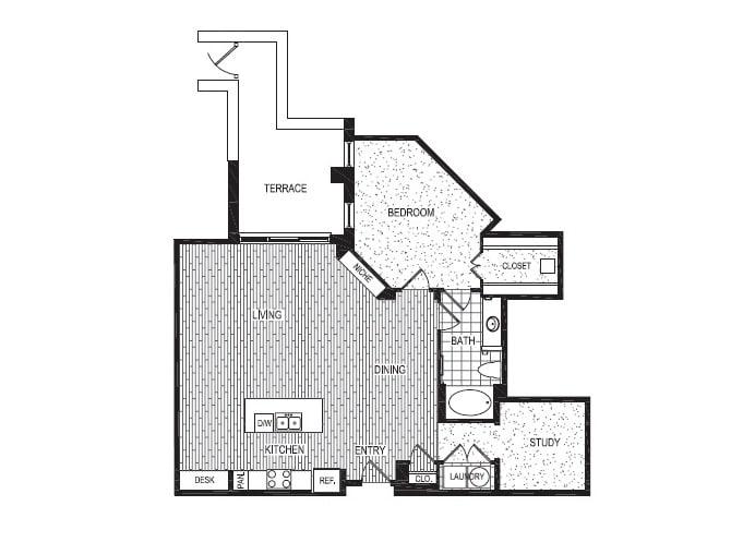 Floor Plan  I, opens a dialog