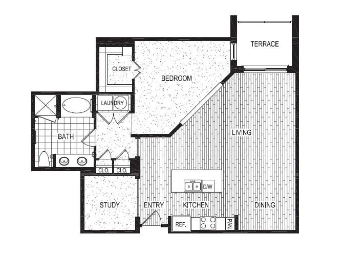 Floor Plan  M, opens a dialog