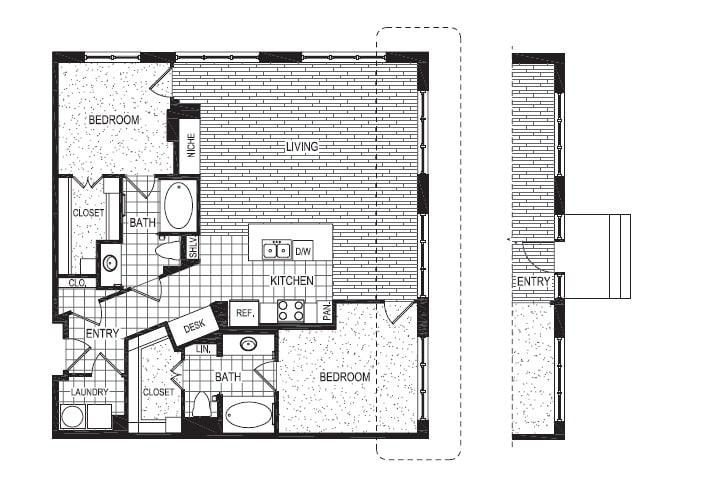 Floor Plan  T1, opens a dialog