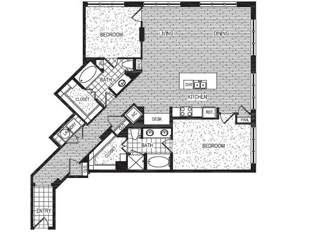 Floor Plan  T2, opens a dialog