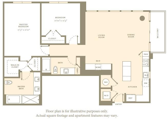 Floor Plan  PH5 Floor Plan at Amaray Las Olas by Windsor, Florida, 33301, opens a dialog