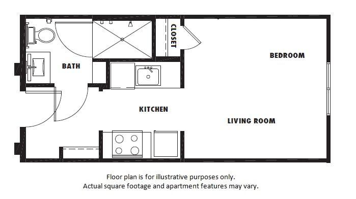 Floor Plan  S1 floor plan at Windsor Metro West, TX, 75024, opens a dialog