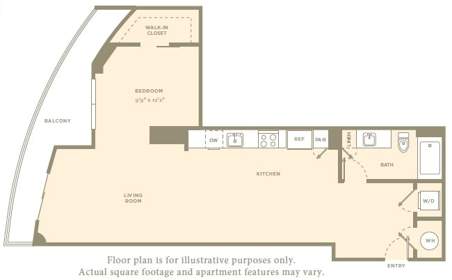 Floor Plan  S1 Floor Plan at Amaray Los Olas, FL, 33301, opens a dialog
