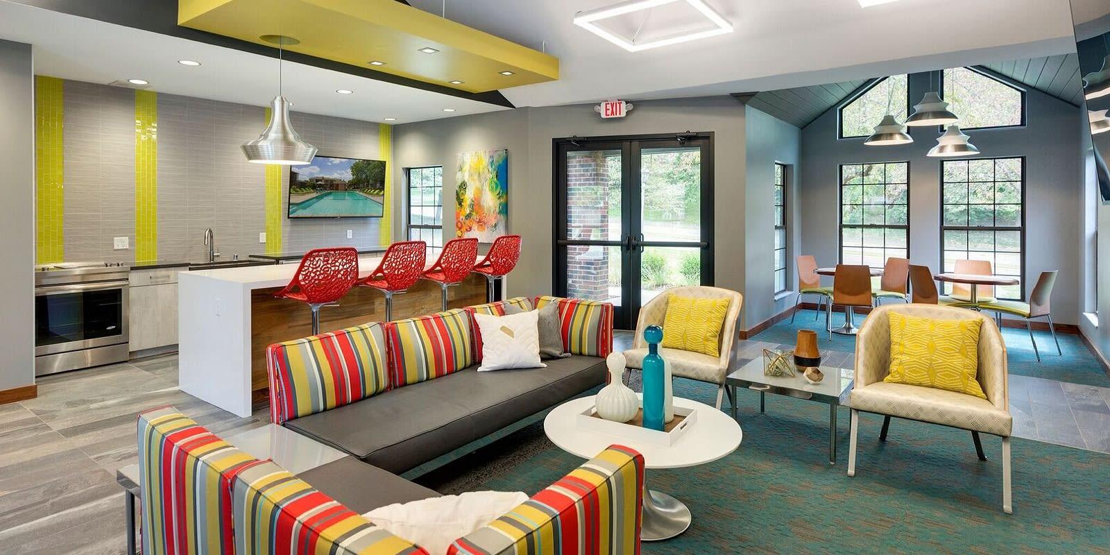 Eden Commons Apartments in Eden Prairie, MN Community Room