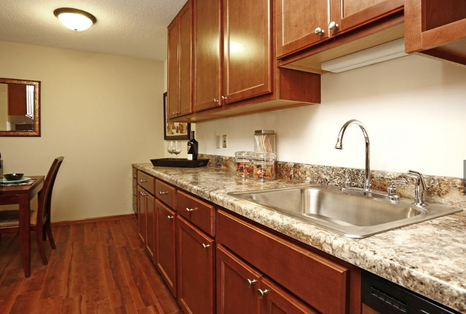 St Paul Apartment Remodeled Kitchen