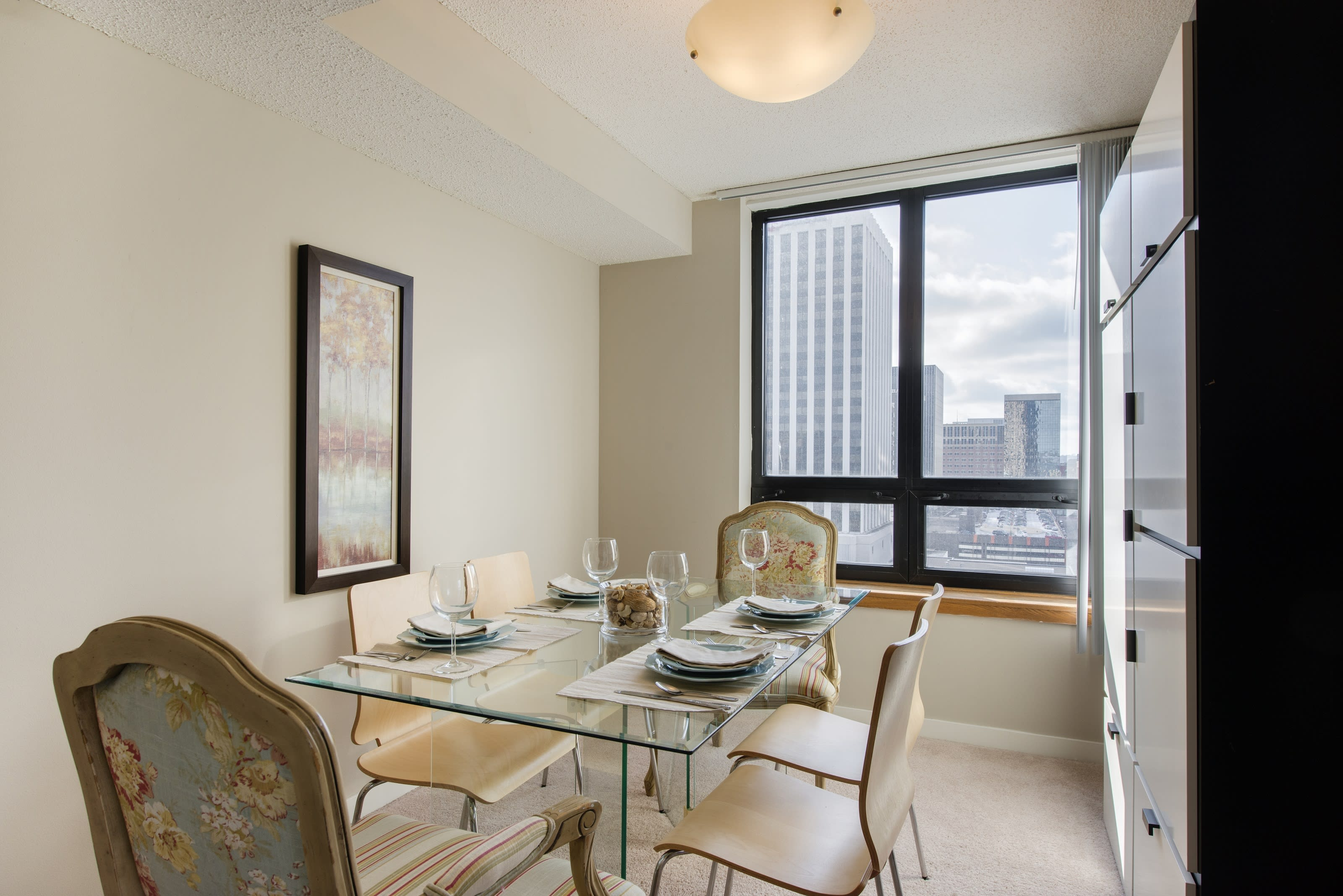 Galtier Towers Apartments in Lowertown, St. Paul, MN Dining Room